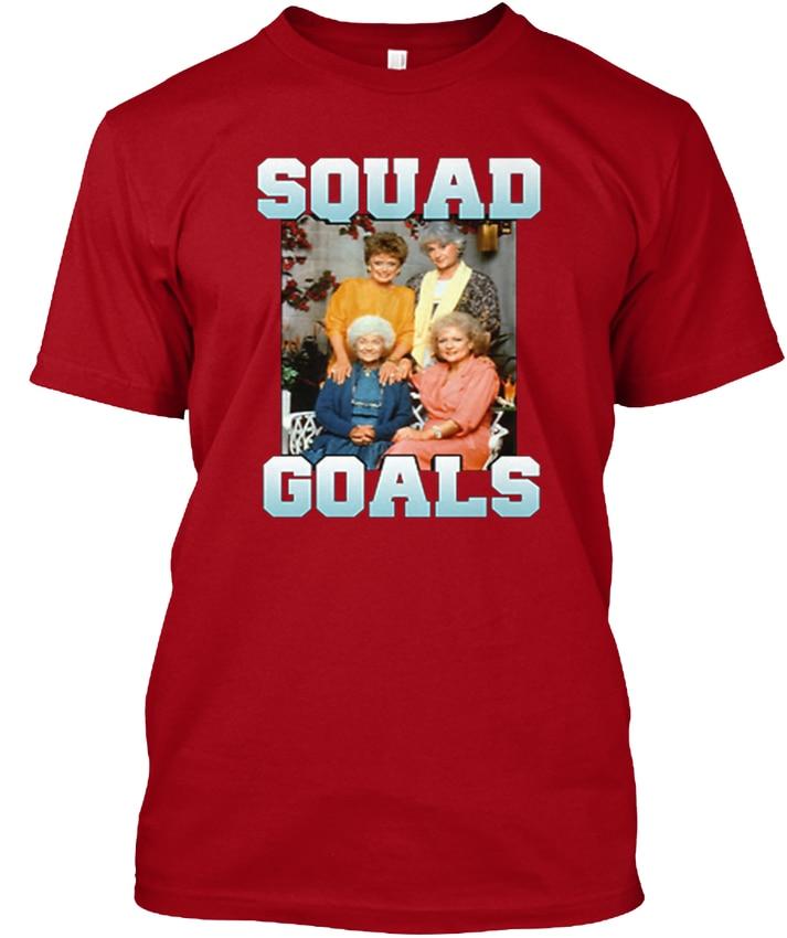 Golden Girls Squad Goals - Popular Tagless Tee T-Shirt