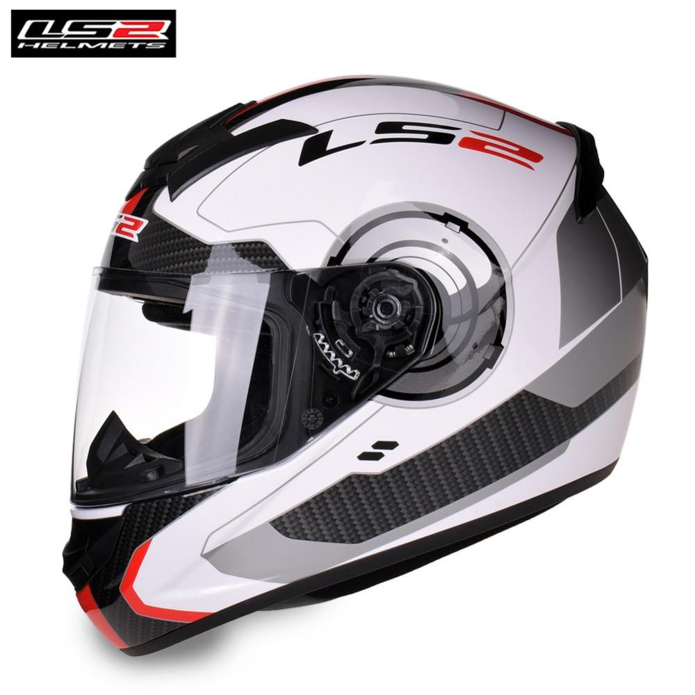 LS2 Plein Visage Racing Casque de Moto Capacete Casco Casque Moto Helm Kask LS2 FF352 RECRUE Casques Pour Suzuki Moto
