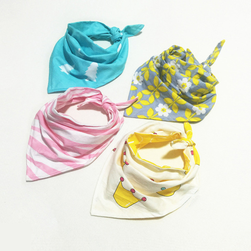 Baby Bibs Double Layers 100% Cotton Slobber 1-6Y Kids Burp Cloths Children Fashion Scarf Explosion Models Free Shipping 1pcs ...