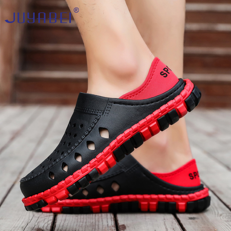 Non-slip Doctor Shoes Summer Medical Slippers Men Soft Bottom Sandals Hospital Laboratory Dental Clinic Pharmacy Work Shoes