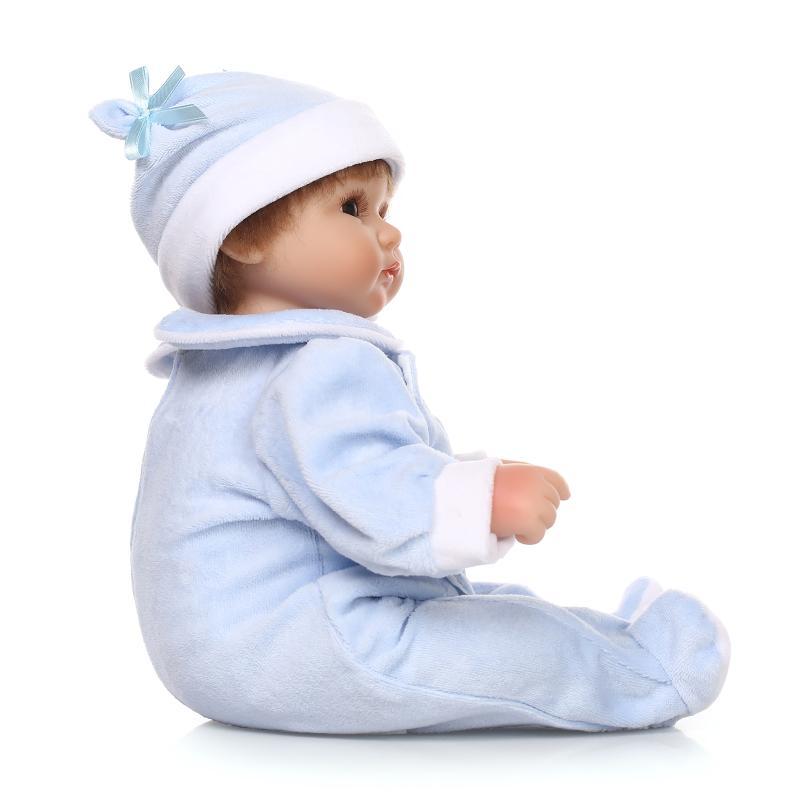 Muñecas renacentistas de silicona de 17 pulgadas Muñecas realistas - Muñecas y accesorios - foto 4