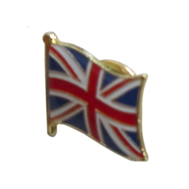 금속 영국 (영국) 플래그 옷 깃 핀 배지 + 나비 다시 단추 + 다른 카운티 플래그 선물 무료 배송 (350 개/몫)-에서핀 & 뱃지부터 홈 & 가든 의  그룹 1