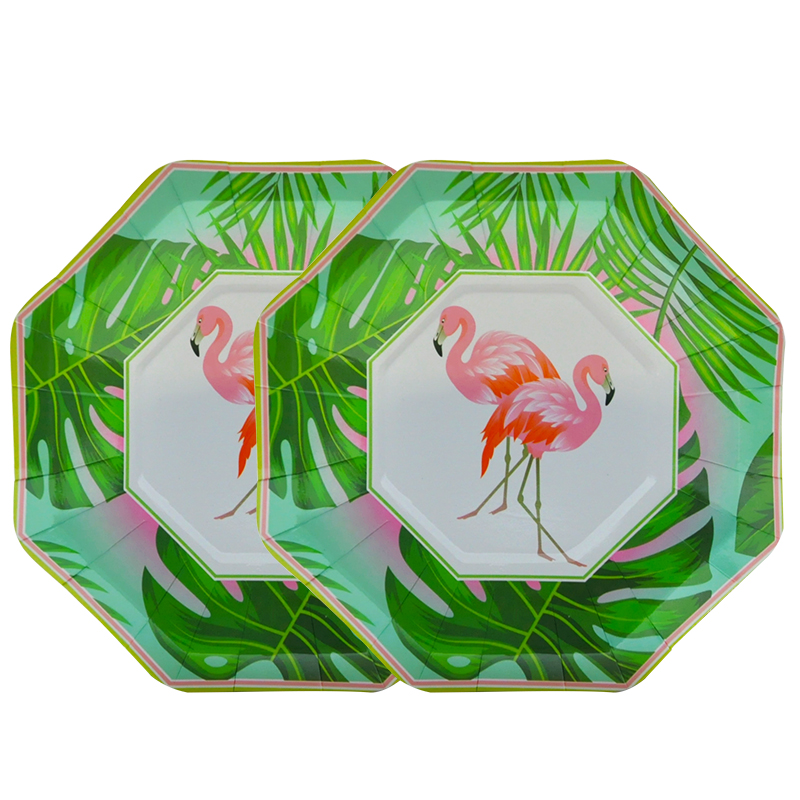 New Arrival 16Pcs/Lot Flamingo Paper Plates Paper bowls Disposable Paper Plates Paper Bowls Birthday Party Decorations-in Disposable Party Tableware from ...  sc 1 st  AliExpress.com & New Arrival 16Pcs/Lot Flamingo Paper Plates Paper bowls Disposable ...