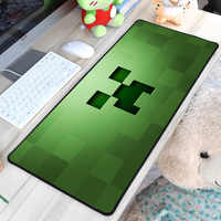 Congsipad Minecraft Mouse Pad Zombie Sword Pattern Mousepads DIY Boy Halloween Gift Gaming MousePad Gamer Large Personalized Pad