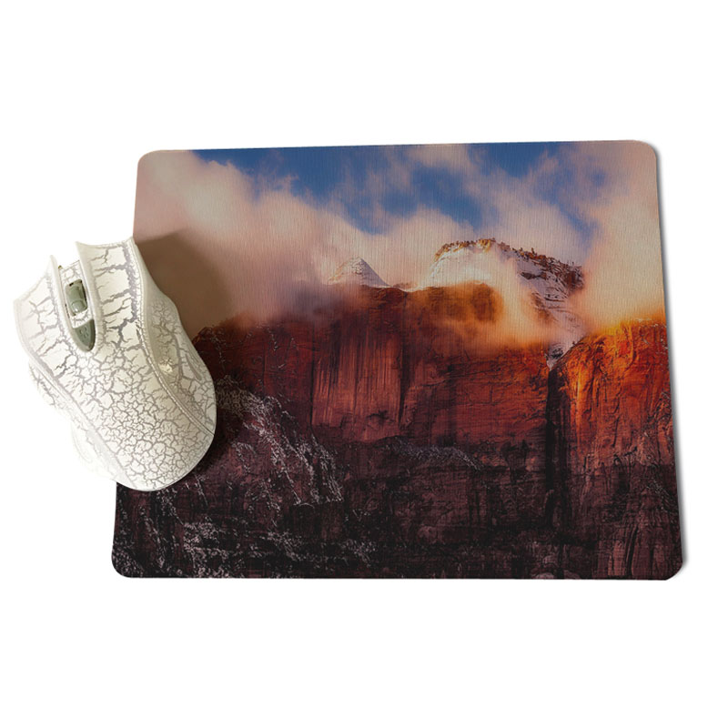 MaiYaCa New Designs Rocky high mountains of the bay Durable Rubber Mouse Mat Pad Size for 18x22cm and 25x29cm Small Mousepad