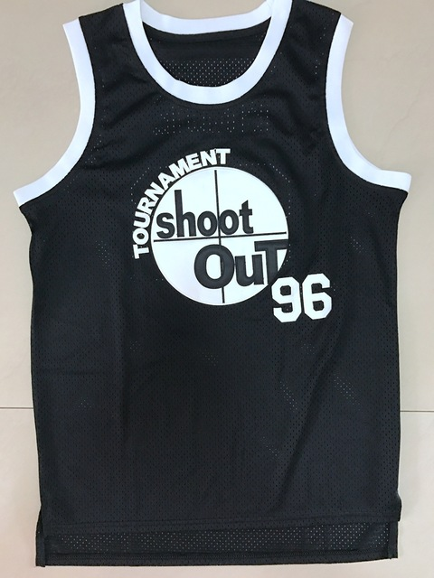Tupac Shakur Birdie #96 Über Dem Rim Basketball Jersey All Stitched Film Basketball Jersey