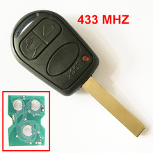 3 кнопки дистанционного ключа PCF7935 чип полный брелок подходит для Land Range Rover 315/433 мГц