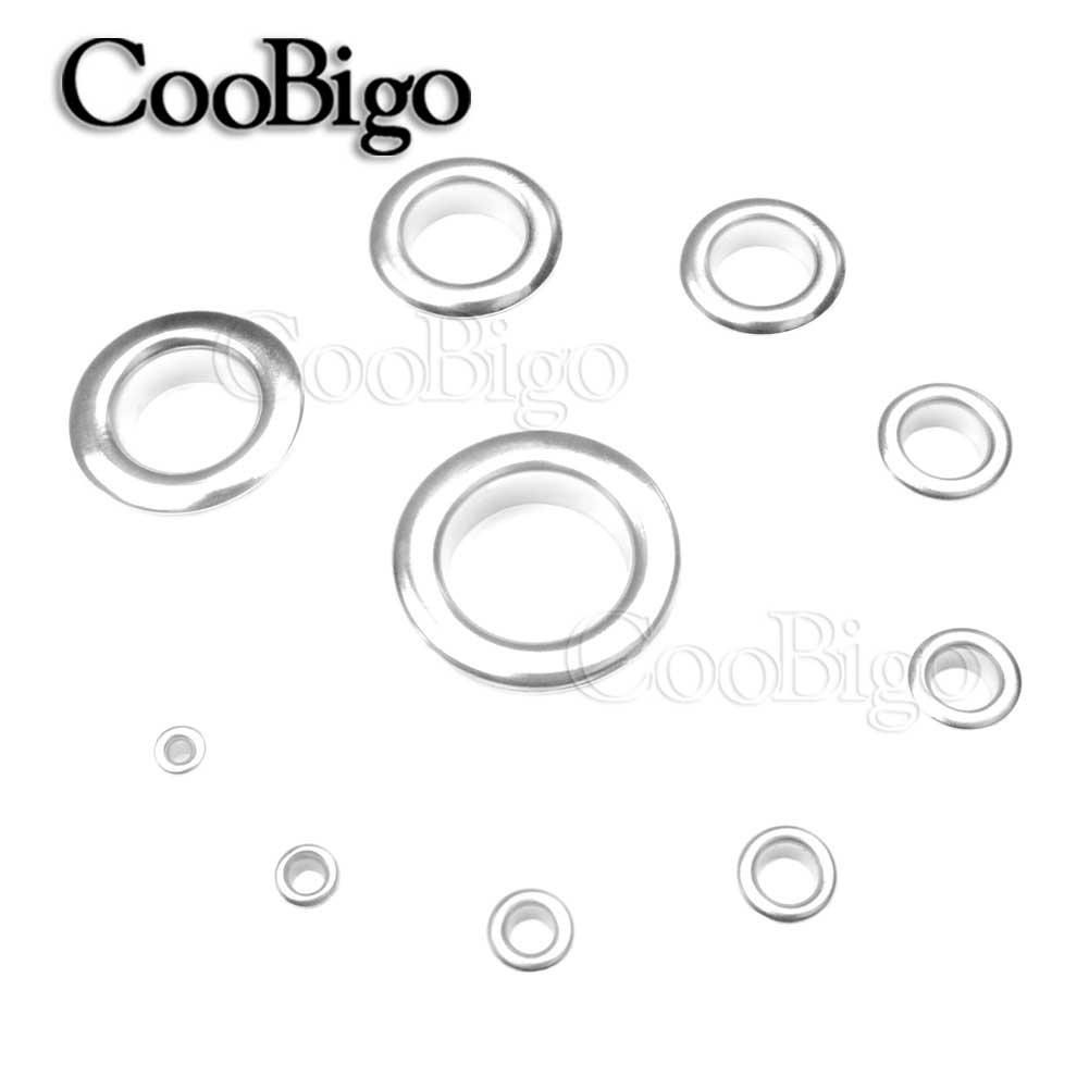 200pcs Vintage Brass Metal Eyelet Grommet for Leather Craft 1.5mm Tone Gold