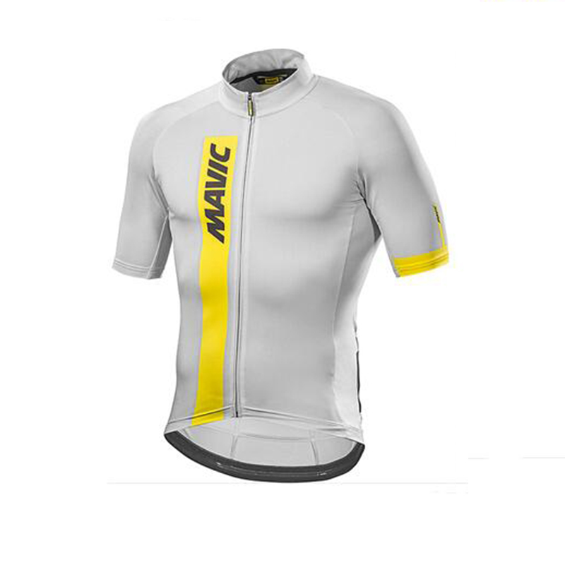 2019 Mavic Males Biking Jersey Biking Clothes Sport Bike Jersey Tops Brief Sleeves Maillot ropa Ciclismo Outside quick-drying Biking Jerseys, Low cost Biking Jerseys, 2019 Mavic Males Biking Jersey...