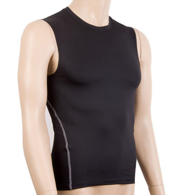 Niedrigerer Preis Mit Männer Sleeveless Sport Enge Weste Sport Jogging Fitness Gym Basisschicht Top Tees Compression Skin Shirts Duftendes In Aroma