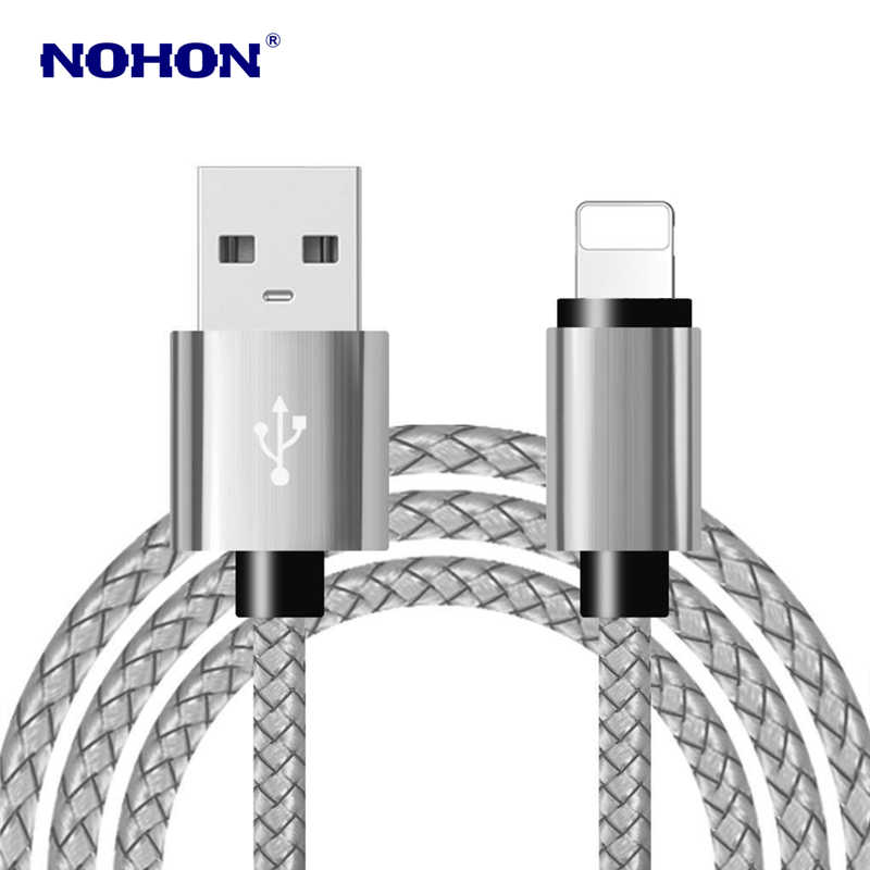 3 m rápido USB de Cable de datos para iPhone 6 S 6 7 8 Plus X XS X Max XR 5S 5 5C SE iPad mini 2 3 2 Cables de carga USB cargador de cable