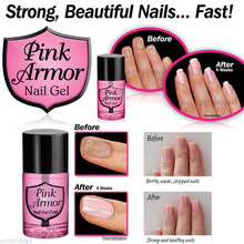 Fancy Armor Nail Gel Growth Formula Treatments Nail Coat Promotes Nail Growth Base Top Coat Nail Tips Primer