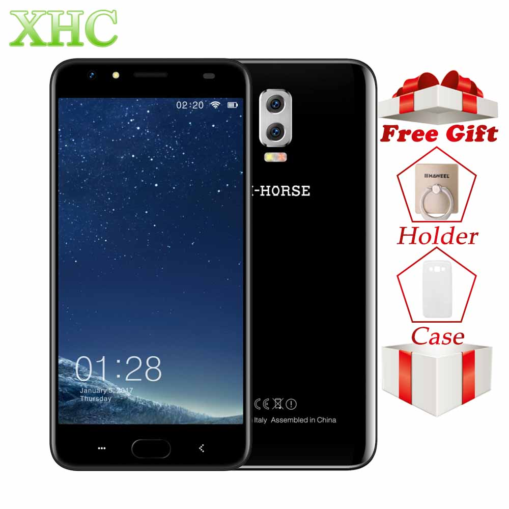 M-HORSE Power 2 5.5'' Smartphone Android 7.0 2GB+16GB 6000mAh MTK6737 Quad Core 1.3GHz LTE 4G Dual SIM 8MP 5MP GPS Mobile Phones