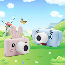 2 Inch Mini Digital Camera Full-view HD Screen Cartoon Cute Camera Toys Children Birthday Gift kids Toys Camera new style