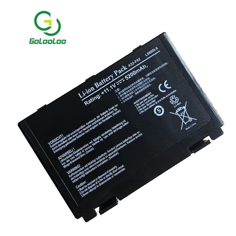 Golooloo bärbar dator för Asus A32-F82 A32-F52 F52 k40in K50 K50iJ - Laptop-tillbehör - Foto 3