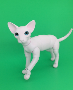 Image 2 - BJD SD doll 1/6 Sphynx A birthday present High Quality Articulated puppet Toys gift Dolly Model nude Collection