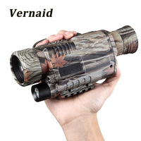 5 x 40 Infrared Night Vision Monocular infrared Digital Scope Hunting Telescope Long Range with Built in Camera
