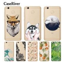 CaseRiver Silicone 5.0″ Redmi 4X Case Soft TPU Xiaomi Redmi 4X Case Cover Patterns Back Protective Phone Case Xiaomi Redmi 4X
