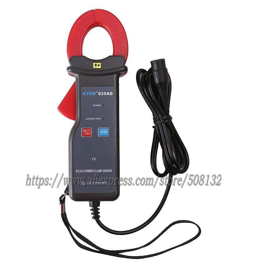ETCR035AD AC DC clamp current sensor 0 0A 1000A 0mV 600mV