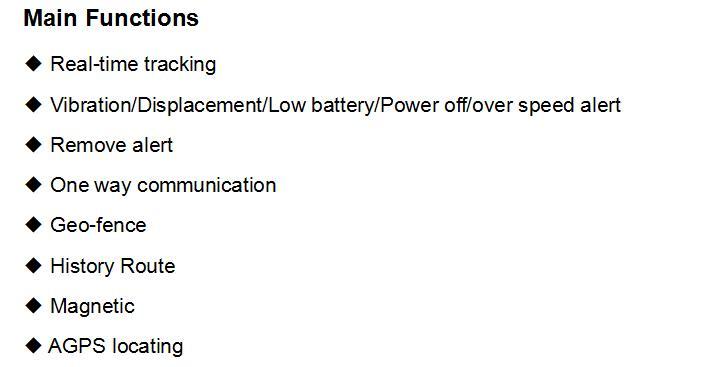 LK209 Functions