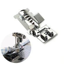 1Pcs Rolled Hem Sewing Machine Foot Useful Cloth Edge Presser Foot For Singer Janome Sewing Domestic Machines Accessories 1pcs rolled hem curling presser foot for sewing machine singer janome sewing accessories hot sale