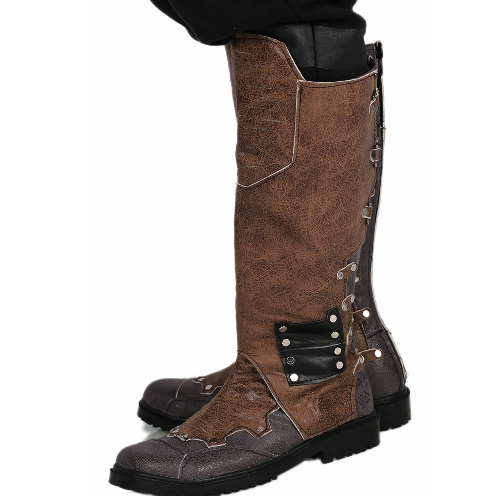 Guardians of the Galaxy Vol 2 Star Lord Cosplay Shoes Leather Mens Boots