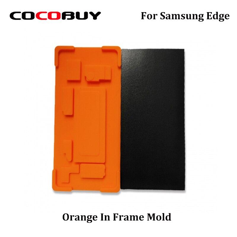 1 Set In Rahmen Laminieren Mould Für Samsung S7edge S8 S8plus S9 S9plus Note8 Note9 LCD Touchscreen Laminieren Mit mittleren Rahmen