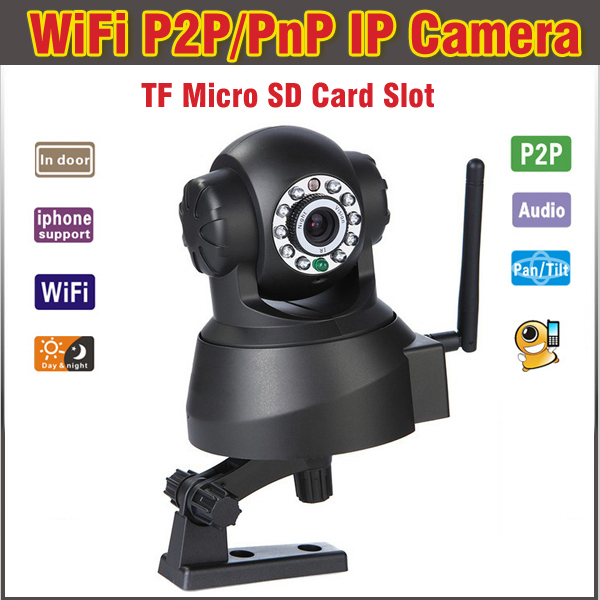 Hot TF MicroSD Card Slot Dual Audio Wireless Wifi Pan/Tilt IP Camera Home Security Surveillance System power supply psu backplane board for ml370g2 230725 001 original 95% new well tested working one year warranty