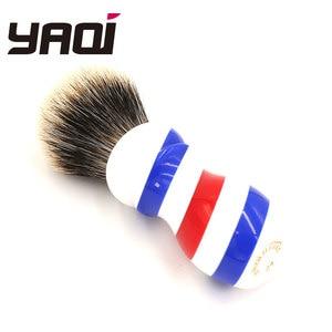 Image 4 - Yaqi New Barber Pole Style 24mm Two Band Badger Knot Shaving Brush
