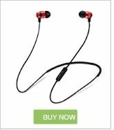Drtmo Metal Sports Bluetooth Headset SweatProof Earphone Magnetic Earpiece Stereo Wireless Headset for Mobile Phone