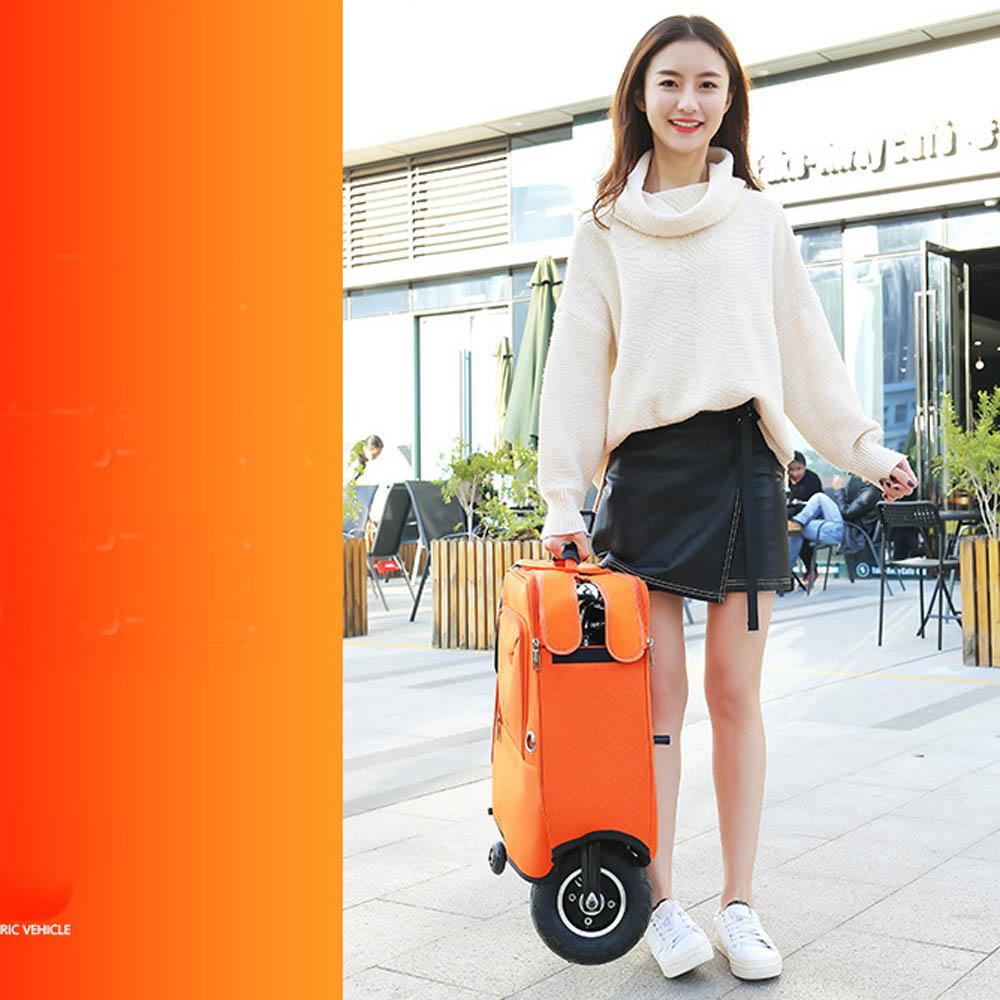 Sac électrique de bagage de voyage de chariot de stockage d'abs de valise de scooter de planche à roulettes d'enfants pour le cadeau d'enfants