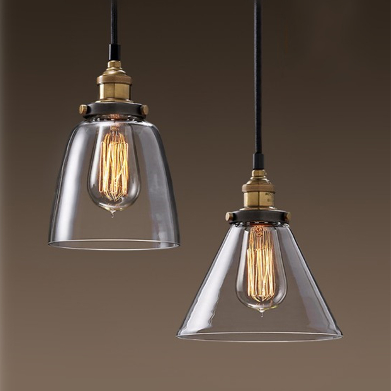 Shop For Vintage Amber Glass Pendant Lamp