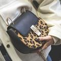 Bolso de las mujeres de nueva moda leopard pequeño cerdo bolsa de bloqueo bolso femenino de cadena del hombro Messenger bag