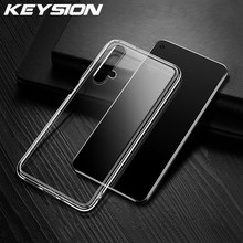 KEYSION Case for Huawei Honor 20 20 Pro 10 Lite 10i Slim Transparent Silicone Soft Clear TPU Back Cover for Honor 20 Pro V20(China)