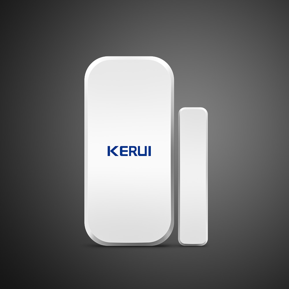 Image 2 - 25pcs Kerui Home Alarm Wireless Door Window Magnetic Detector Gap Sensor For GSM Wifi Home Security Alarm System Touch Keypad-in Sensor & Detector from Security & Protection