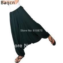 Hot Sale Personalized Pants Solid Color Big Crotch Pants Lantern Radish Skorts Hanging Crotch Pants Harem Pants