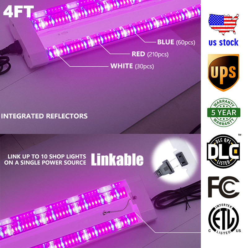 50 W/80 W LED de semis élèvent le spectre complet léger pour la lampe de semis élèvent la tente de LED pour la culture d'intérieur de fleurs de Veg de semis de plante