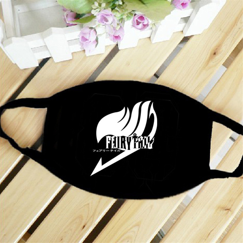 Fairy Tale Japan Anime Mouth Face Mask Dustproof Breathable Women Men Cotton Riding Mask Fashion Accessories