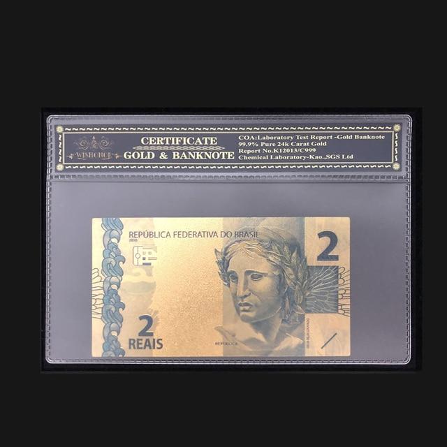Banknotes 100 Real Dollars Banknote