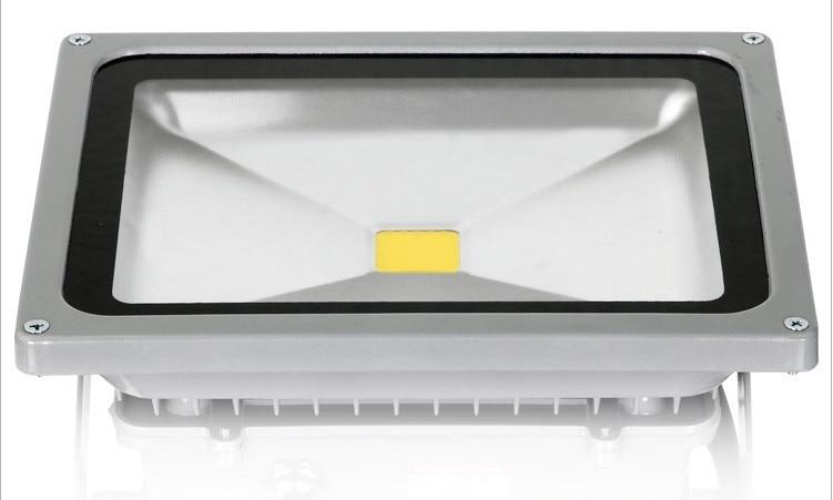 ФОТО 10PCS ultrathin LED flood light 50W AC85-265V waterproof IP65 Floodlight Spotlight Outdoor Lighting cool/warm white