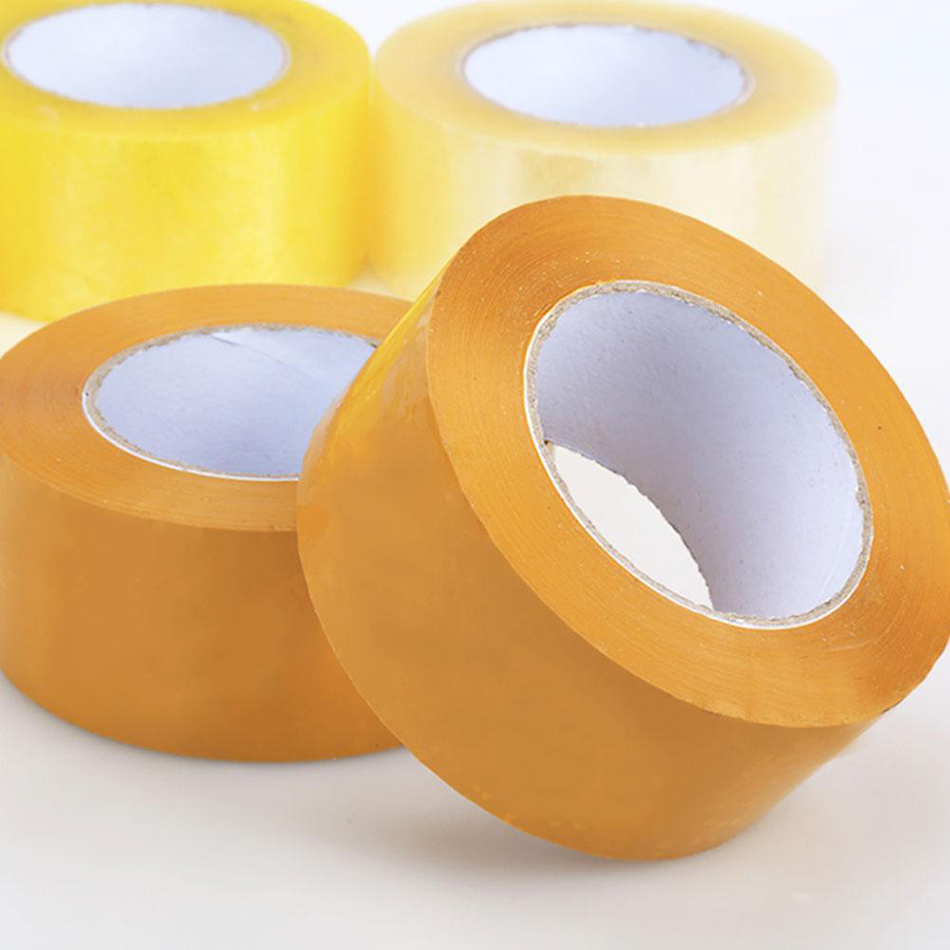 1 roll sealing tape OPP sealing tape packing label Clear Carton Box Sealing Packaging Tape Office Adhesvie Tape 2pcs free shipping custom tamper evident packing tape security packaging tapes printing void open sealing sticker label 30mm 15m