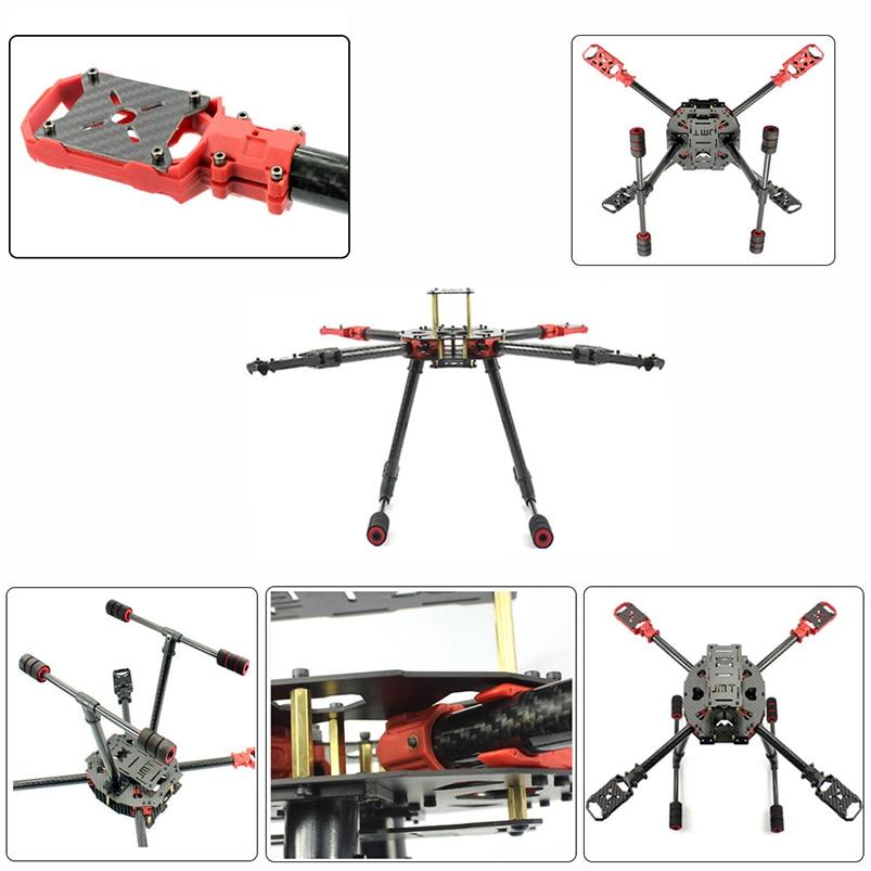 JMT DIY 2.4GHz 4-Aixs Aircraft RC Multicopter ARF 630mm Frame Kit Radiolink MINI PIX+GPS Brushless Motor ESC Altitude Hold