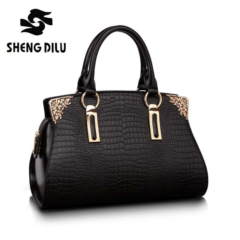 Free European & American Style 2016 HOT NEW famous Designers Brand Genuine Leather bags High quality women messenger bags #1196