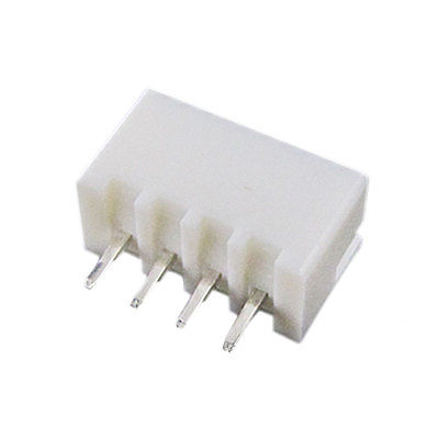 100 Pcs 4 Pins White Pressure Welding Bar Connectors XH Free shipping