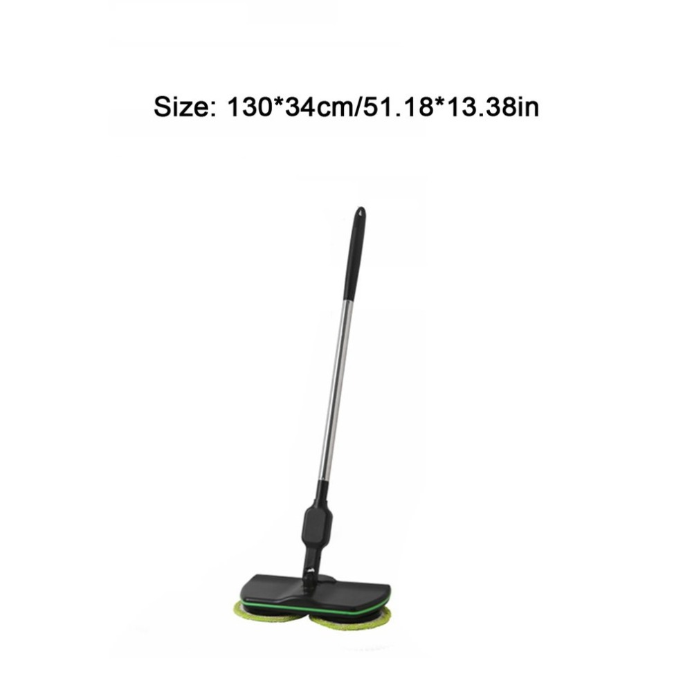 Rechargeable All round Rotation Cordless Floor Cleaner Scrubber Polisher Electric Rotary Mop Microfiber Cleaning Mop for
