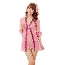 2016 Hot Erotic Lingerie Langerie Sexiest Sleepwear Pajamas For Women Baby Doll Camisola Women Bathrobe Comfortable Sex toys