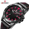 2016 Fashion Brand LONGBO Military Sports Leather Watches Multicolor Date Calendar Analog Quartz-watch Mens Wristwatches 80186