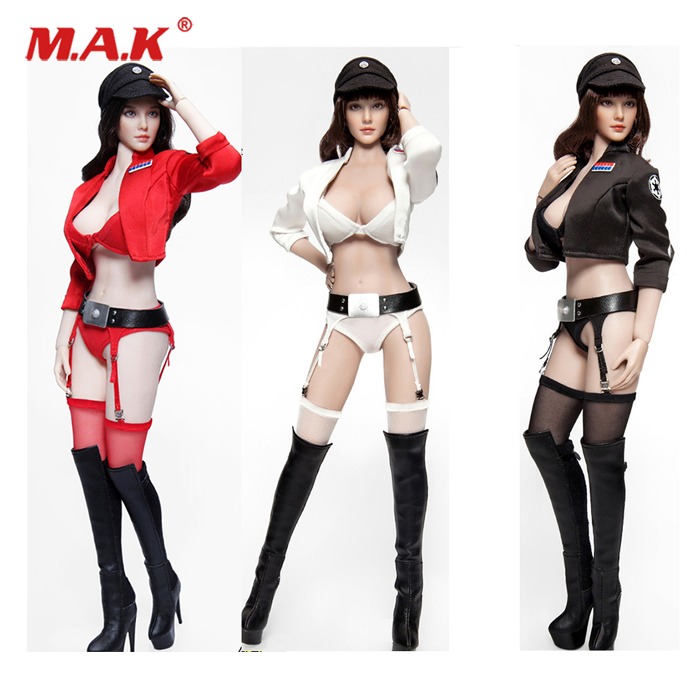 Collectibles 1/6 Scale Female Figure Accessory FGC2018 Star Wars cosplay Sexy female figure doll Suspender clothing set w shoes Collectibles 1/6 Scale Female Figure Accessory FGC2018 Star Wars cosplay Sexy female figure doll Suspender clothing set w shoes