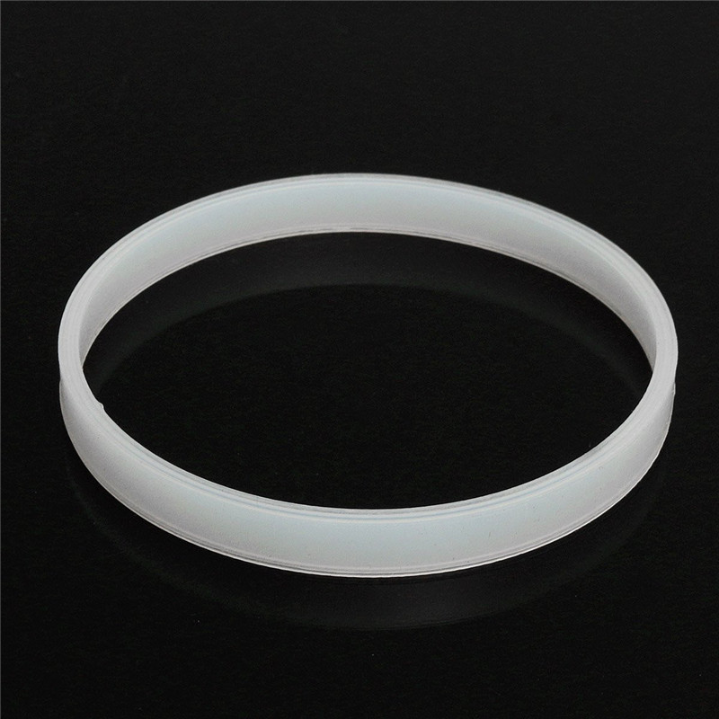 10cm White Rubber Sealing Ring Gasket O For Ninja Juicer Blenders Blade Mixer Washers Easy Installation Durable Quality