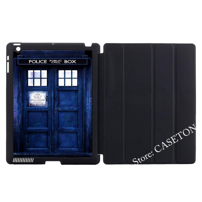 Doctor Who Tardis Police Box Cover Case For Apple iPad Mini 1 2 3 4 Air Pro 9.7 10.5 12.9 2016 New 2017 a1822 air doctor блокатор вирусов портативный розовый медвежонок 1 шт